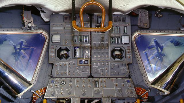 Inside The Lunar Lander