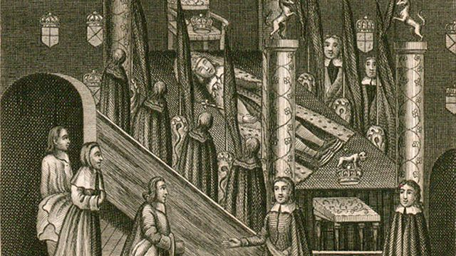 Oliver Cromwell Lies In State