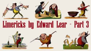 Small Title Card For Edward Lear Limericks - Part 3
