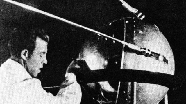 Sputnik 1 Being Manufactured