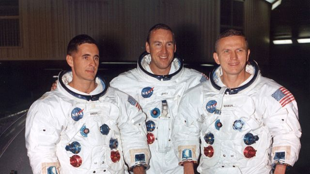 The Crew Of Apollo 8