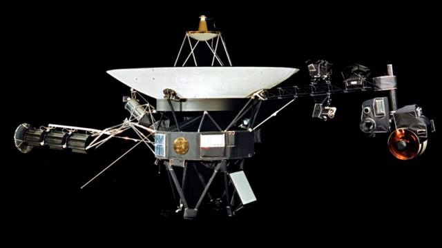 An Artist's Impression Of Voyager Deployed