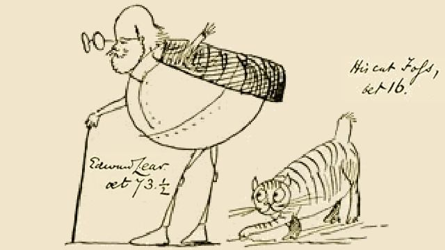 Edward Lear And His Cat Foss