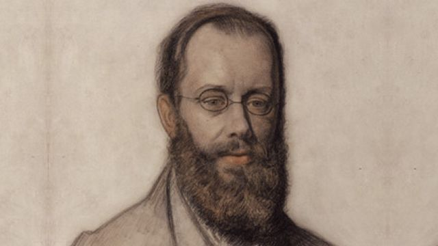 Portrait Of Edward Lear