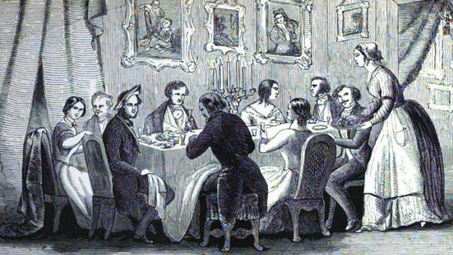 A Victorian Dinner Party