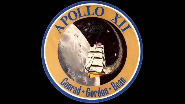 Mission Patch For Apollo 12
