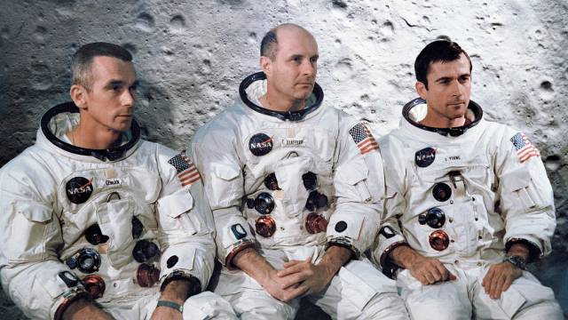 The Crew Of Apollo 10