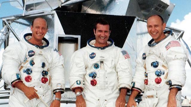 The Crew Of Apollo 12