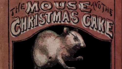 Mouse And The Christmas Cake Cover