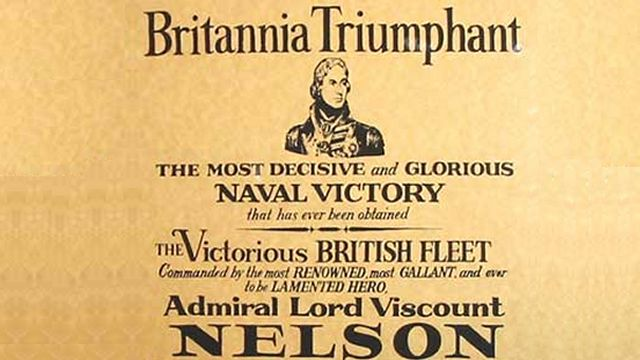 Announcement Of The Victory At Trafalgar And Nelson's Death