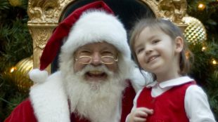Some Of Us Like Meeting Santa Claus