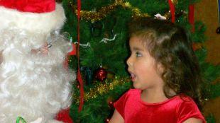 Meeting Santa Today