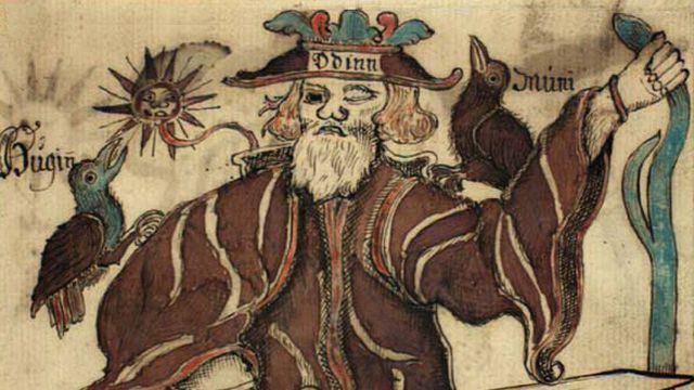 Odin The Chief Norse God