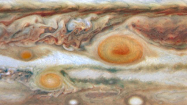 The Surface Of Jupiter