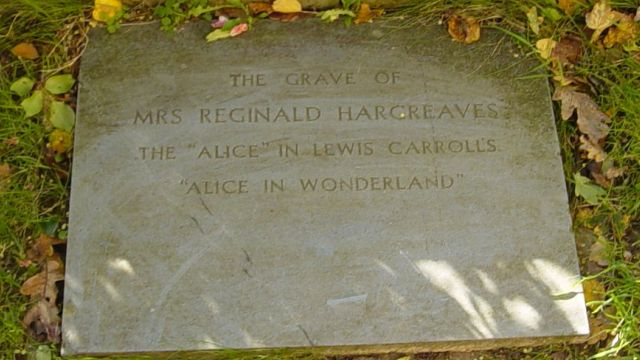 The Grave Of Alice Liddell/Hargreaves