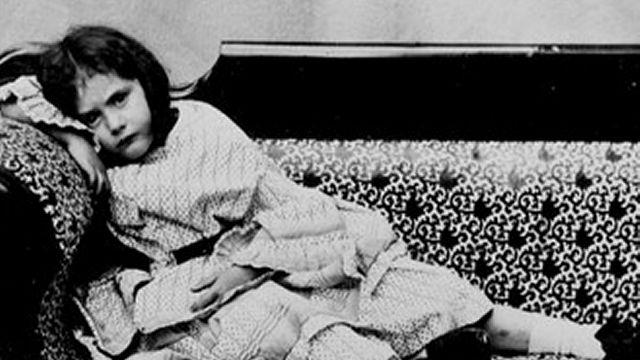 Edith Liddell On A Sofa