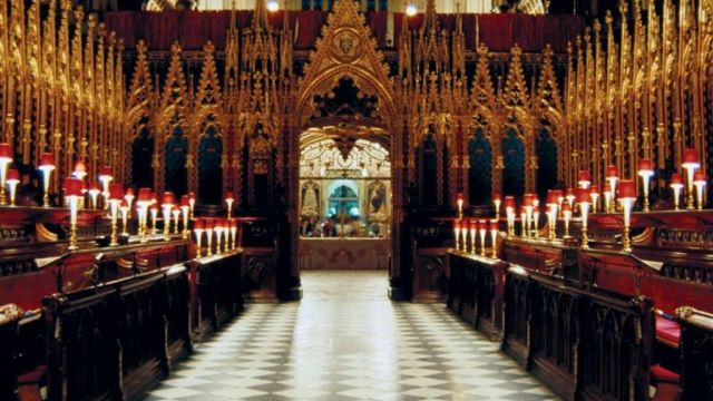 The Quire Of Westminster Abbey