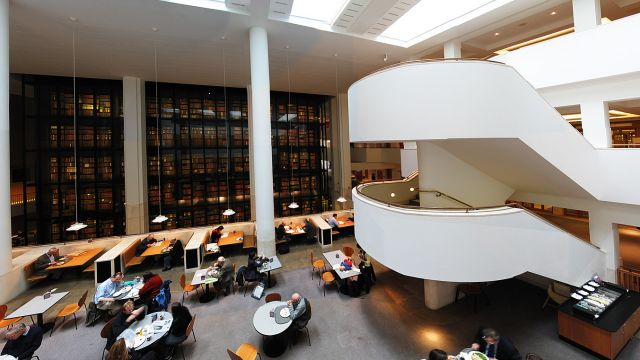 The Interior Of The British Library