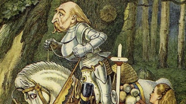 John Tenniel's Illustration Of The White Knight