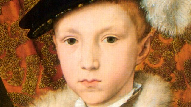 Portrait Of Edward VI