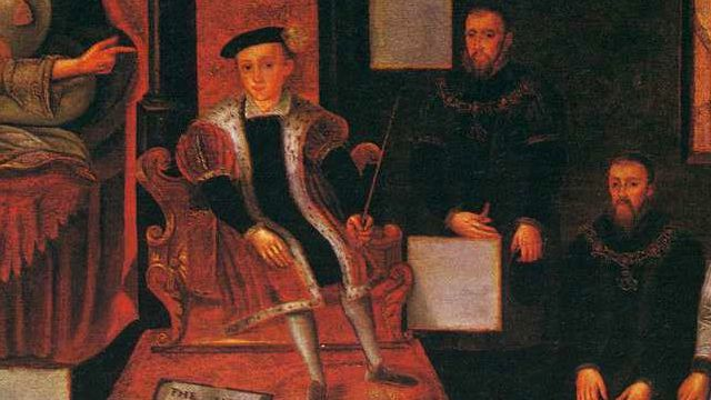 Portrait Of Edward VI And His Advisers