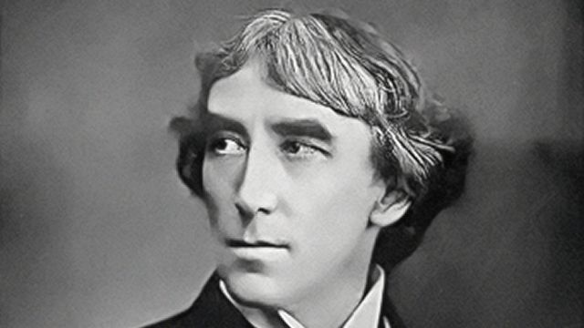 El actor Henry Irving